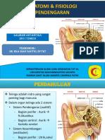 PPT Anatomi pendengaran