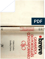 310789550 Celso Cunha Breve Gramatica Do Portugues Contemporaneo