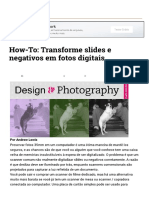 Transforme Slides e Negativos Em Fotos Digitais
