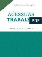 ACESSUAS TRABALHO Caderno Orientacoes