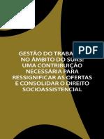 GESTÃO DO TRABALHO NO ÂMBITO DO SUAS