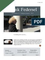 Frank Federsel Newsletter 15