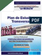 Plan de Estudios Transversales