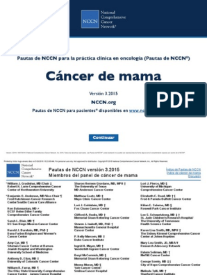 prueba de cáncer de mama arno 95