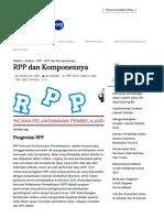 RPP Dan Komponennya - Silabus