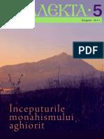 Analekta Nr. 5 - Începuturile Monahismului Athonit