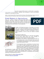 Field Robots in Agriculture