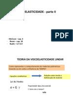 Viscoelasticidade II