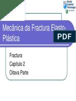 T2-5-5 Mecânica Da Fractura Elasto-Plástica