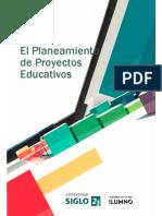 Modulo 3 y4 Del Planteamiento  de proyetos educativo