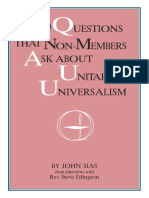 100 Questions About Unitarianism & Universalism