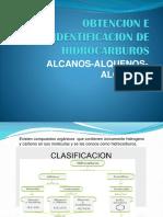 Obtencion e Identificacion de Hidrocarburos