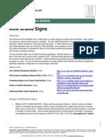 California ADA Braille Requirements