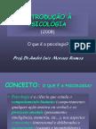 INTRODUÇÃO À PSICOLOGIA - 2008.ppt