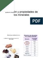1. Definición y Propiedades de Mineral. Cristalización.ppt