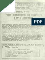 The Rockefeller Empire Latin America