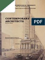 148966811 Contemporary Architecture