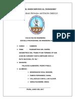 Parámetros Del Diseño Geometrico Del Tramo Pi 589 Termino Cp San Juan de Curumuy Hasta Empalme Con La Ruta Nacional Pe 1nl Original