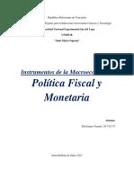 Instrumentos Macroeconomicos