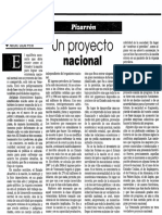 Un Proyecto Nacional