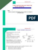 Dimensionarea Retelelor Electrice de JT
