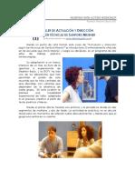 Descripcion Del Taller de Actuacion y Direccion Segun Tecnicas de Sanford Meisner PDF