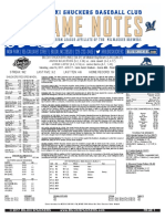 6.17.17 at MOB Game Notes