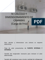 4. Cálculo y Dimensionamiento de Cámara