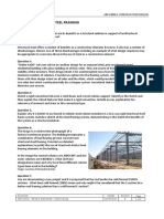 Abpl30041 Review Questions Steel Framing 2017