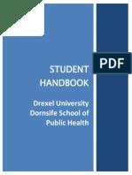Dornsife SPH Student Handbook