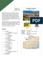 Mariana – Wikipédia, A Enciclopédia Livre