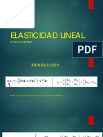 Elasticidad Lineal