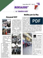 Periodico EL Mensajero 2'17-1. Marzo