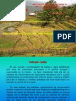 PRÁCTICAS ESTRUCTURALES DE CONSERVACIÓN DE SUELO Y AGUA