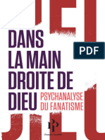 Dans la main droite de Dieu Psychanalyse du fanatisme - Gérard Haddad.epub