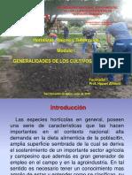 GENERALIDADES DE LOS CULTIVOS HORTÍCOLA