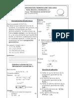 Progresion Geometric A Teoria Practica
