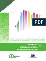 Panorama Sociodemográfico Estado de México