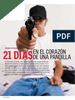 21 Días en El Corazón de Una Pandilla