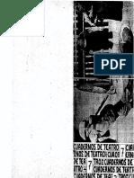 Teoria y Practica Del Teatro Cuadernos 7