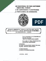 Oferta Ambiental Del Palto