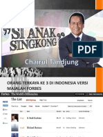 Presentation Chairul Tandjung