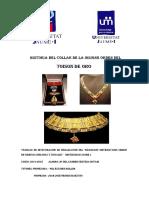 Historia Del Collar Del Toison de Oro