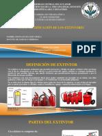 España Yery. Consulta 3. Clasificación de Extintores