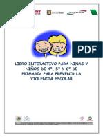Libro Interactivo Contra La Violencia