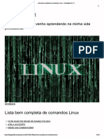 Lista Completa Comandos Linux