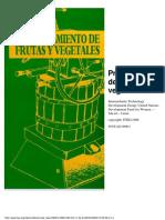 FAO Procesamiento de Frutas y Vegetales