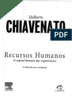 Idalberto Chiavenato Recurso Humanos