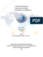 Laporan Akhir Praktikum TA3201 Geostatistik Untuk Pemodelan Sumberdaya_Fina Fitriana R_12113079_Batubara_Shift Jum'at 09.00-11.00
