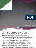Clase i Control de La Erosion
